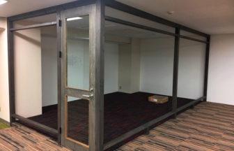 企業様オフィス改装OAフロア・タイルカーペット・パーテーション施工