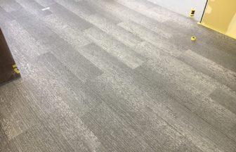 オフィス既存床改修工事OA変更