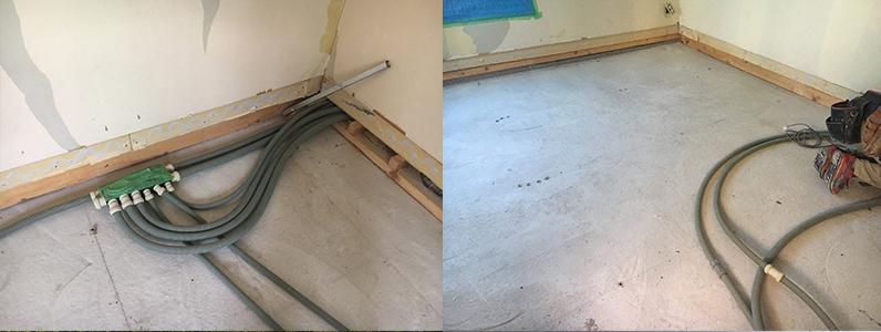 置床・乾式二重床施工