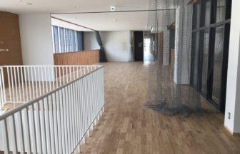 第3中学校新設工事、フローリング根太張り工事