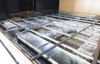 文教施設鋼製床下地工事