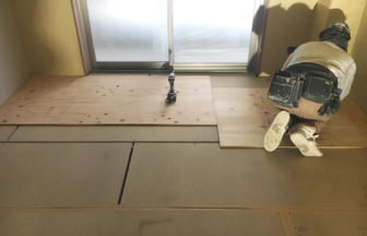 置床・乾式二重床・捨て貼り床工事